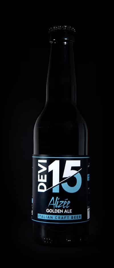 Bottiglia Devi15 - Alizée - Golden Ale - Italian Craft Beer