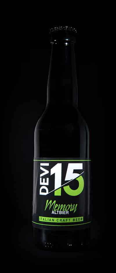 Bottiglia Devi15 - Memory - Altbier - Italian Craft Beer